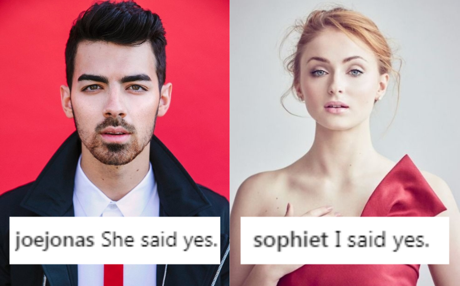 Joe Jonas bertunang dengan pelakon Game Of Thrones, Sophie Turner