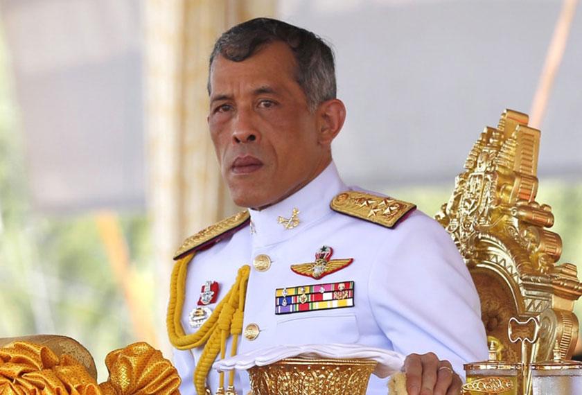 King Maha Vajiralongkorn Bodindradebayavarangkun (Rama X) naik tahta sebagai Raja Thailand setelah kematian ayahnya pada Oktober tahun lalu. Foto EPA