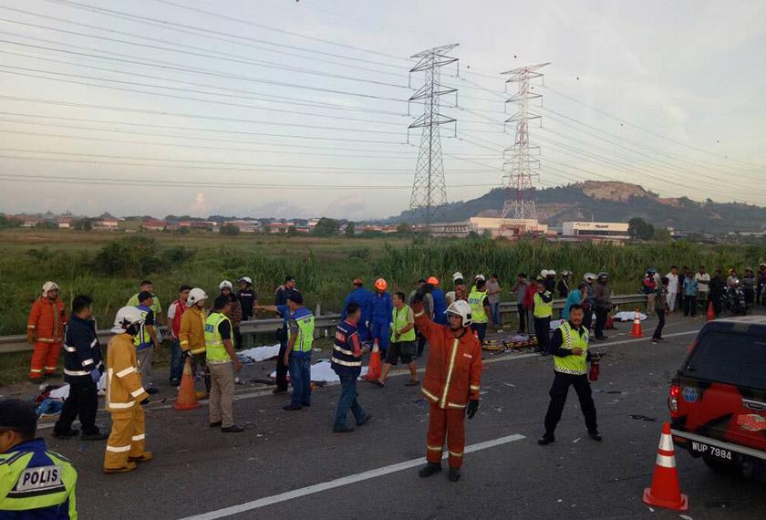 Foto ihsan Jabatan Bomba dan Penyelamat.