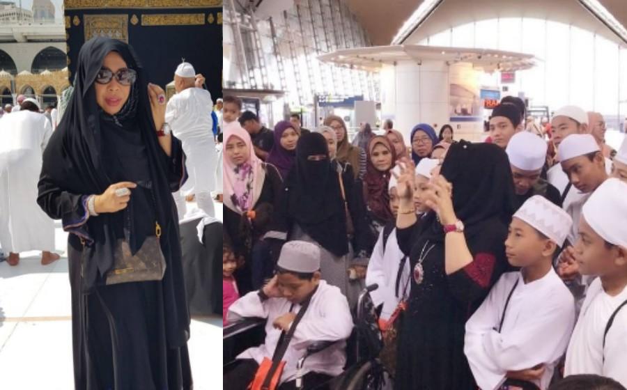 Datuk Seri Vida bersyukur impian bawa anak tahfiz tunai umrah tercapai