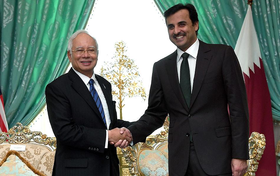 Emir Qatar, Sheikh Tamim Hamad Al Thani, lawatan,