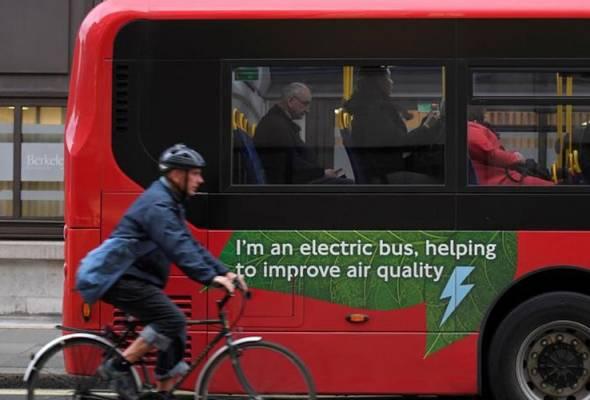 London merupakan antara bandar utama yang mencatatkan pencemaran udara tinggi dan boleh membahayakan nyawa dalam jangka panjang.