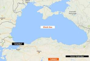 Cargo ship with 10 crew sinks in Black Sea, coast guard reports
