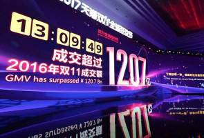 Alibaba Singles' Day breaks world record
