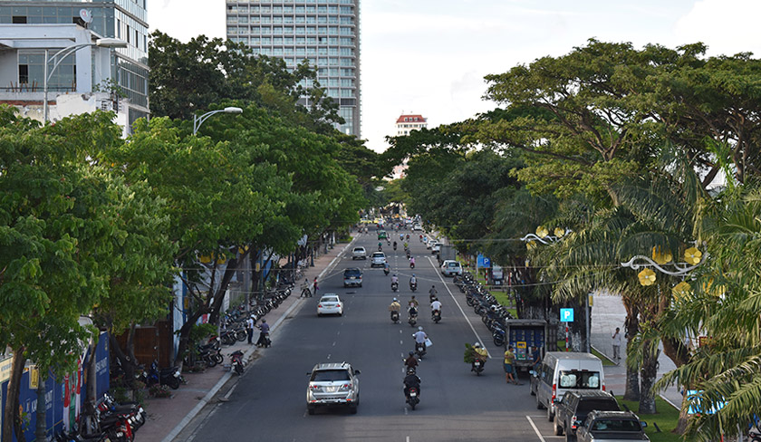 The roads of Danang are wide and spacious. The city benefited from a massive infrastructure push under Nguyen Ba Thanh. Karim Raslan Photo
