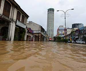 Pulau Pinang lumpuh dek banjir!