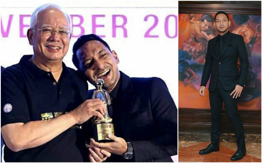 Zizan Razak tak sangka PM Najib Razak muat naik foto di Instagram