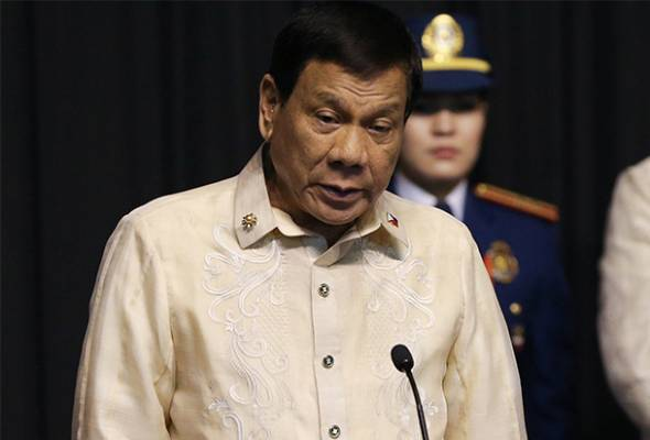 Duterte hidap barah?