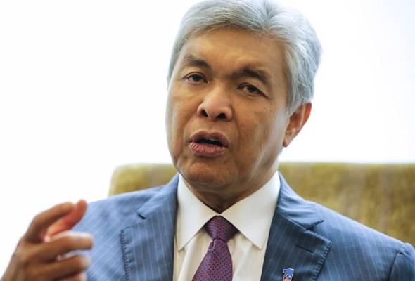 Pendaftaran PH, saya tidak campur tangan - TPM Ahmad Zahid