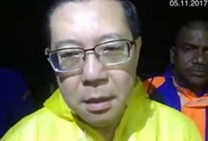 Guan Eng rayu bantuan ATM bantu mangsa banjir kilat Pulau Pinang