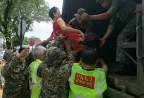 Banjir P.Pinang: ATM atur gerak kerja seawal 5 pagi - Hishammuddin