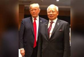 'Gembira bertemu kawan saya (Trump) sekali lagi' - PM Najib