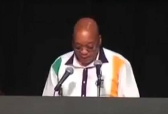 Kerana 'in the beningging', Presiden Afrika Selatan jadi mangsa troll