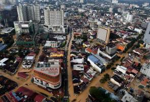 Banjir di Pulau Pinang semakin pulih
