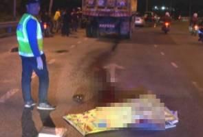 Ibu hamil tiga bulan maut digilis lori di Rawang
