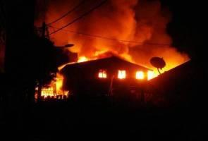 15 rumah musnah dalam kebakaran di Kuala Perlis
