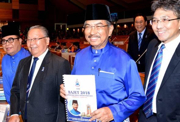 Bagi 2018, kutipan hasil diunjur bernilai RM4.169 bilion manakala perbelanjaan kerajaan pula sebanyak RM4.104 bilion dengan lebihan RM64juta