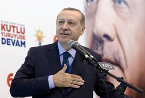 Ubah pendirian tentang Baitulmaqdis atau berdepan tentangan - Erdogan