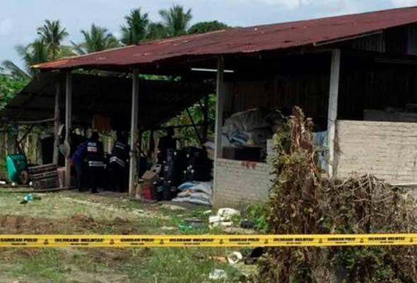 Mayat SP Biak Sang Nawl, 35, ditemui majikannya dalam keadaan terbaring dan berlumuran darah di atas katil.