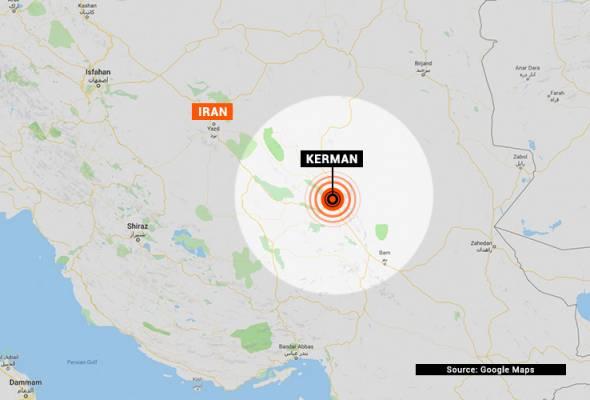 Gempa 6.0 magnitud landa tenggara Iran