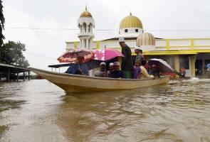 Jumlah mangsa banjir di Kelantan semakin berkurangan