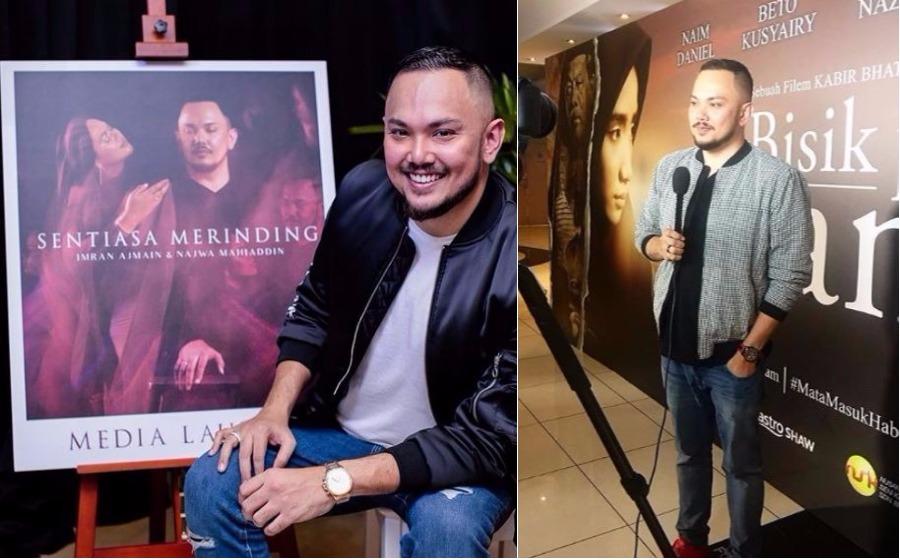Imran Ajmain cemburu dengan industri muzik Indonesia