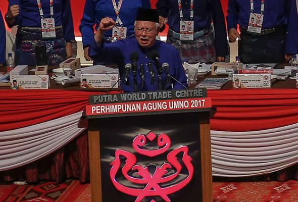 Datuk Seri Najib Tun Razak tidak campur tangan dalam soal usul supaya jawatan Presiden, Timbalan Presiden tidak dipertandingkan.