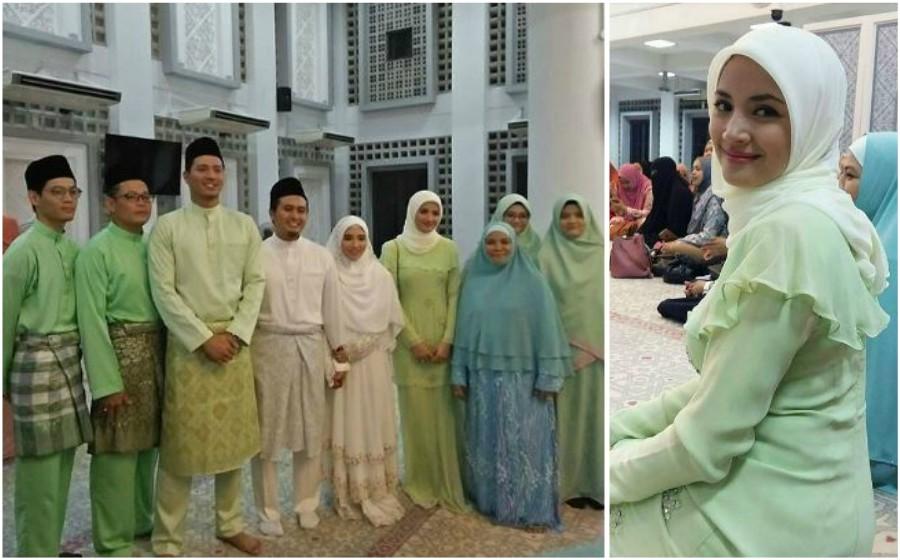 Comelnya Fazura di majlis perkahwinan adik ipar | Astro Awani