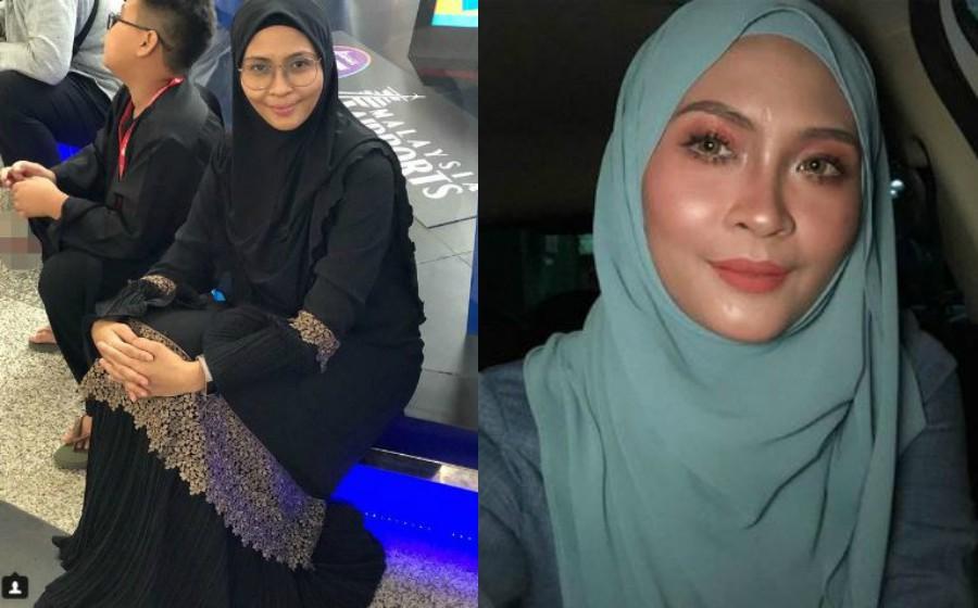 Tunai umrah, Siti Nordiana mohon maaf sebelum berangkat ke Mekah