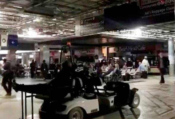 Lapangan Terbang Antarabangsa Hartsfield-Jackson tidak lagi bergelap