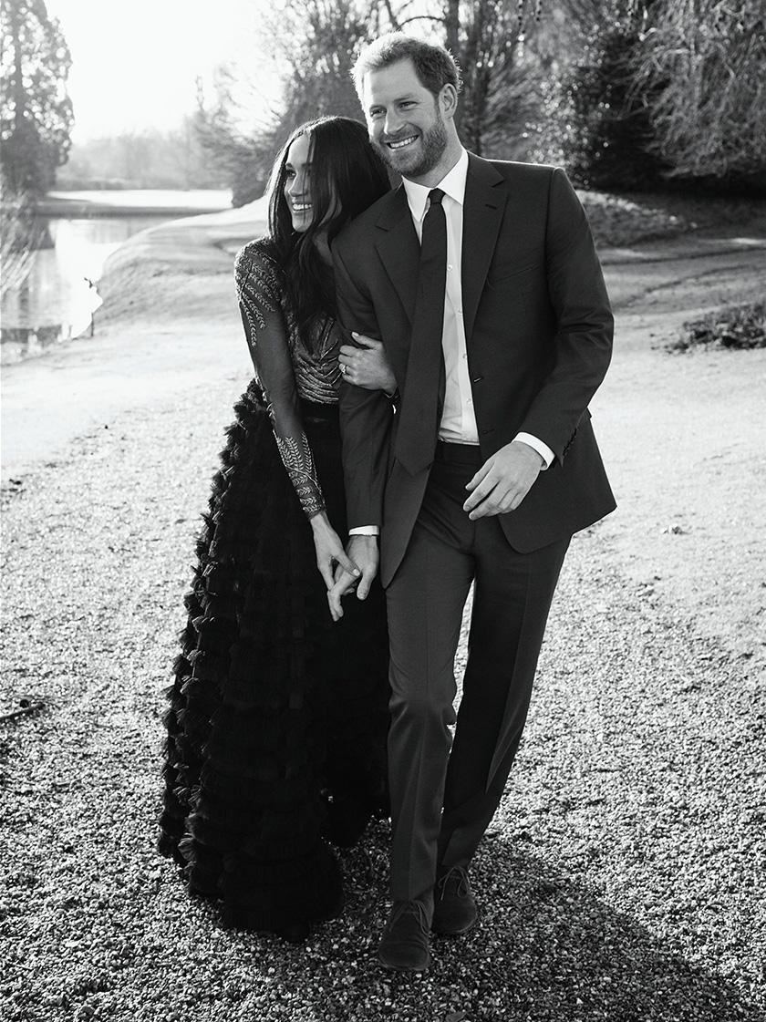 Dianggarkan sekitar 600 tetamu sebelum itu tiba di Istana Windsor Castle untuk menyaksikan perkahwinan Putera Harry dan Meghan Markle.- Gambar fail