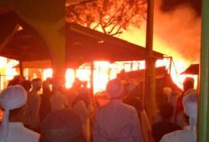 14 pondok Madrasah Muhammadiah Kota Bharu terbakar