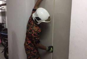 Enam remaja terperangkap dalam lif lega diselamatkan