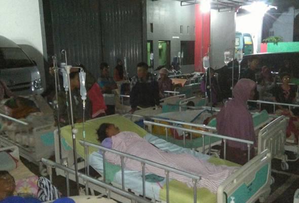 Gempa bumi kuat landa selatan pulau Jawa Indonesia, 2 maut