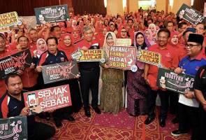 'Ahli, biro IT UMNO jangan lagi jadi babau' - TPM Ahmad Zahid