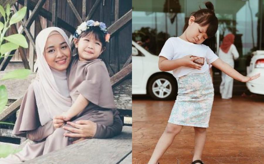 Farah Lee beri penjelasan selepas dikecam tak pakaikan anak ikut syariat Islam