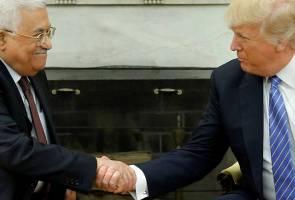Pindah Kedutaan AS: Abbas terima panggilan Trump