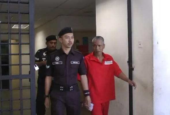 Seorang penagih tegar yang telah dimasukkan ke pusat serenti sebanyak tiga kali sejak 2009, hari ini dijatuhi hukuman penjara lima tahun.