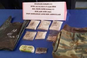 Pengedar syabu Kota Kinabalu dicekup