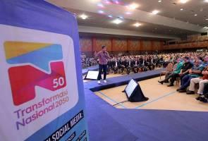#MalaysiaMemilih: 'TN50 ciplak Wawasan 2020' - Tun M