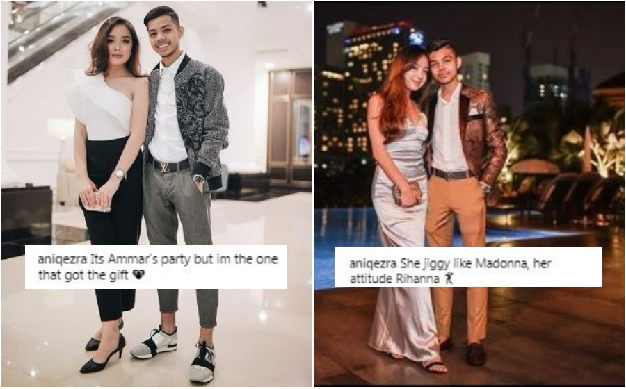 Anak kedua Che Ta tayang awek lawa, netizen tak puas hati?