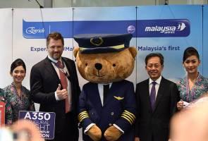 Malaysia Airlines mulakan penerbangan KL-Heathrow guna pesawat baharu