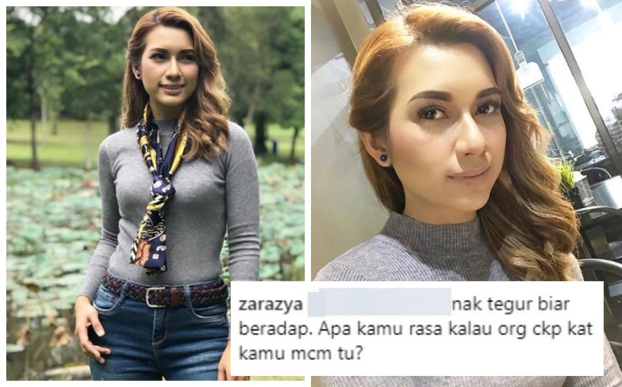 Pakai baju ketat, Zara Zya dihambur kecaman, ucapan lucah