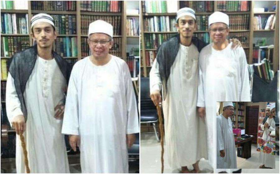 Mufti Wilayah Persekutuan hadiahkan Iqram Dinzly arnab