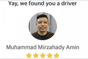 Sedekad berselang, pemenang Singapore Idol, Hady Mirza kini pemandu Grab