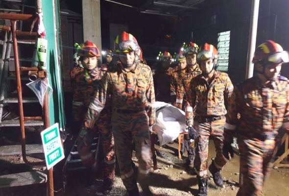 Mayat pekerja warga Bangladesh ditemui