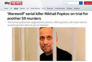 Mikhail Popkov, pembunuh bersiri terbesar Rusia