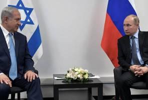 Rejim Israel menagih simpati daripada Rusia