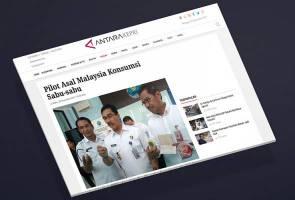 Juruterbang Malaysia ditahan di Batam kerana positif dadah