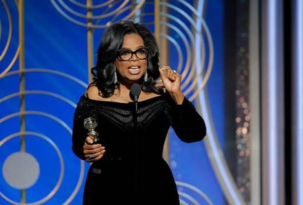 Donald Trump turut kritik penampilan Oprah Winfrey dalam program popular '60 Minutes' dimana soalan dilihat sebagai berat sebelah.
